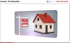 Real estate Investments Tax Deductible