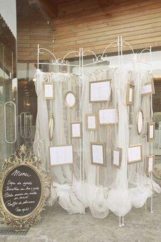 Il tableau mariage è importante perchè, affisso all'entrata della sala per il ricevimento, agevolerà gli inviati a trovare il posto assegnatogli.