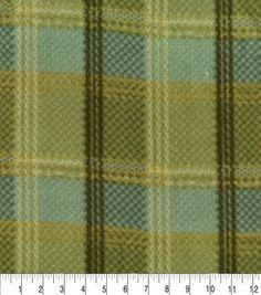 Polar Fleece Anti Pill Fabric Premium Quality Soft Tartans Check Print Craft