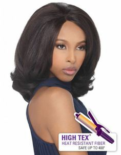 Outre Synthetic Lace Front Wig ONYX - NEW STYLE
