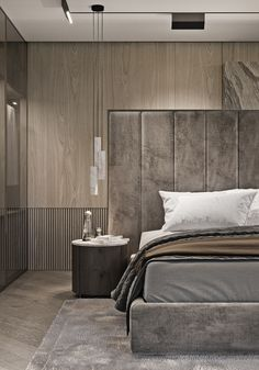 Modern Bedroom Ideas - All the bedroom design ideas you'll ever before require. Locate your style as well as produce your dream bedroom plan whatever your budget, style or room size. Bedroom Lamps Design, Rustic Master Bedroom Design, Master Bedroom Interior, Luxury Bedroom Design, Design Living Room, Home Decor Bedroom, Interior Design, Bedroom Ideas, Bedroom Designs