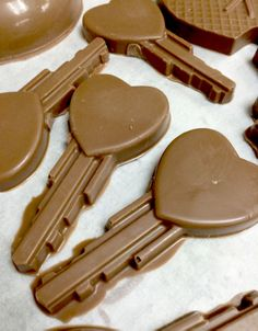 Who holds the chocolate key to your heart? www.dunmorecandykitchen.com