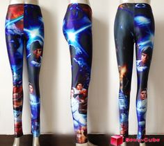 2013 New Popular Lady's Galaxy Star Wars Montage Leggings for Women Tights Pants