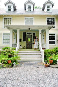 Partial front porch