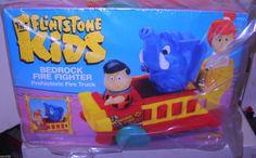 """Coleco """"The Flintstone Kids"""" Bedrock Fire Fighter"""