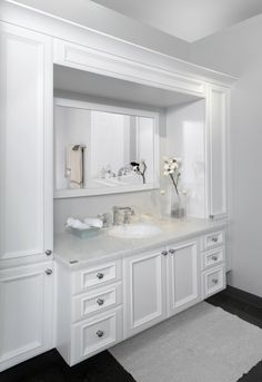 √ Uniquely Small Bathroom Storage Cabinets Decoration Ideas With Pics For 2019 Home Room Design, Bathroom Makeover, Storage Cabinets, Small Bathroom Storage, Simple Bathroom Decor, Bathroom Design Small, Bathroom Design, Bathroom Decor, Girls Room Decor