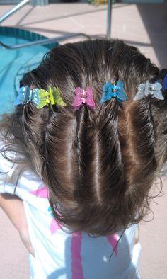 Morgan's hair 6/10/2012