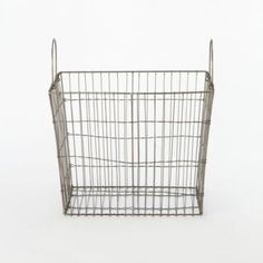 Vintage Steel Dairy Crate in House+Home HOME DÉCOR Furniture Storage+Accents at Terrain
