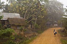 nothern Thai village