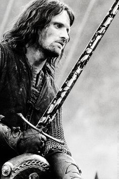 The Company took little gear of war, for their hope was in secrecy not in battle. Aragorn had Anduril but no other weapon, and he went forth clad only in rusty green and brown. as a Ranger of the wilderness.
