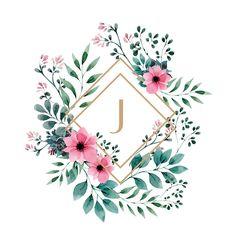 Watercolor J