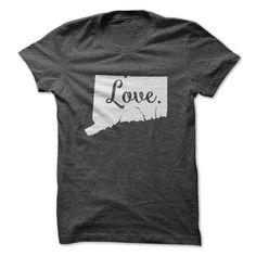 Love Connecticut  T Shirt, Hoodie, Sweatshirt