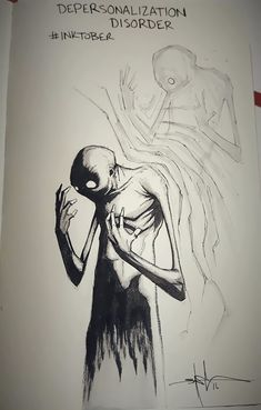De Amerikaanse artiest Shawn Cross ging zijn inspiratie voor een reeks tekeningen in een duister hoekje zoeken: namelijk dat van de mentale stoornissen....