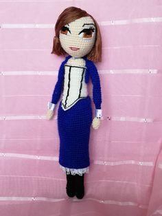 Cosplay amigurumi Elizabeth from Bioshock infinite #bioshock #amigurumi #elizabeth #cosplay