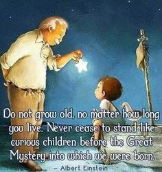 * Memories of Caiden❤️ * Do not grow old, no matter how long you live. Never cease to stand like curious children before the Great Mystery into which we were born Spiritual Words, Spiritual Teachers, Spiritual Life, Indigo Children, Fountain Of Youth, Greatest Mysteries, Knowledge Quotes, Mindfulness Quotes, The Hard Way