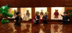 Iron Man : Evolution by Legoagogo, via Flickr #LEGO LEGO Lego