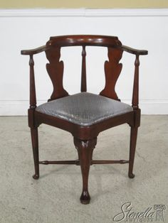 hickory chair co french dining chairs sydney 67 best made to last vintage finds images 24416 queen anne mahogany corner antique furniture