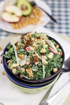 @Shoshy Choina or this? Kale, Chickpea and Apple Salad