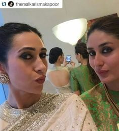 Love karishma's saree and blouse