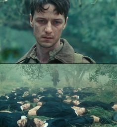 War has obviously calloused Robbie but it doesn't stop him from showing compassion Cinematic Photography, Dark Photography, James Mcavoy, Movie Shots, Movies Worth Watching, Film Studies, Atonement, Film Inspiration, Iconic Movies