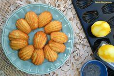 Ponto de Rebuçado Receitas: Madalenas de limão e sementes de papoila