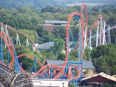 Hershey Park, Hershey, PA....favorite amusement park, gotta go at least once a year!