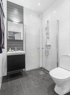 Modern Bathroom Vanities, If you choose contemporary or modern-day design, then you more than likely want to select a tidy and stylish sink vanity for your house. Wet Room Bathroom, Diy Bathroom Decor, Bathroom Layout, Simple Bathroom, Bathroom Interior Design, Modern Bathroom, Bathroom Vanities, House, Tubs