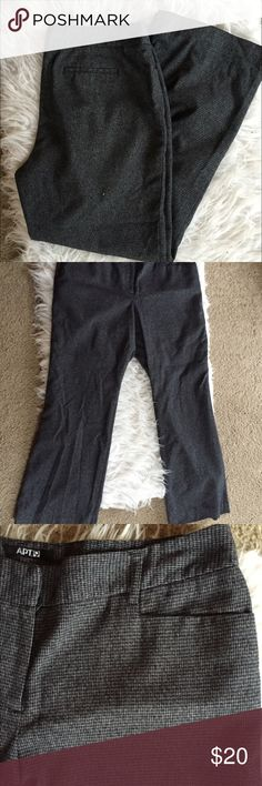 🆕 ∆ㄕɬ.9 modern fit trousers Polyester, Rayon and spandex. Has some wear between thighs, priced accordingly. 👺NO TRADES DONT ASK! ✌🏼️Transactions through posh only!  😻 friendly home 💃🏼 if you ask a question about an item, please be ready to purchase (serious buyers only) ❤️Color may vary in person! 💗⭐️Bundles of 5+ LISTINGS are 5️⃣0️⃣% off! ⭐️buyer pays extra shipping if likely to be over 5 lbs 🙋thanks for looking! Apt. 9 Pants Trousers