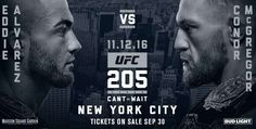 UFC 205 бьет все рекорды — три титульных боя в одном карде.