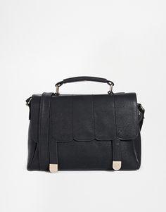 ASOS Scallop Stitch Satchel Bag