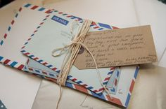 Handwritten letters. Molly wrote letters to a man who knows some information on her mother.