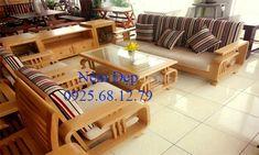 nệm ghế sofa gỗ sồi