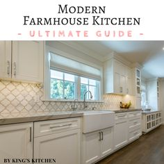 Not sure how to achieve the perfect modern Farmhouse Kitchen Design? Read our ultimate guide on what you need to incorporate into your Kitchen Remodel to achieve the authentic look of a Modern Farmhouse Kitchen.