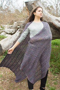 2c99d51eb84e90 Ravelry  Midsummer s Evening Wrap pattern by Meg Warren Wrap Pattern