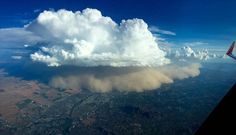 A haboob, or dust storm, over Phoenix on Aug. 21. (Ryan Vermillion)