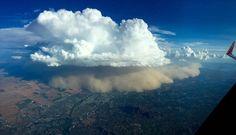 A haboob, or dust storm, over Phoenix on Aug. 21. (Ryan Vermillion)