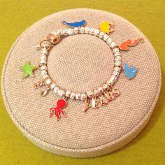Bracelet created by the Brescia Dodo boutique.