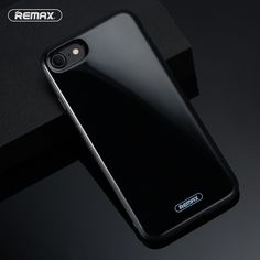 For iPhone 7 case luxury brand Original REMAX JET Series Phone Protective Case For iPhone7 7 plus PET + TPU Phone Back Cover