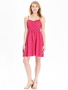 Women's Eyelet Sundresses Product Image