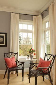 8 Best Curtains For Corner Windows Images Corner Curtain Rod