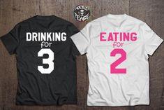 t-shirt eating for 2 pregnancy shirt drinking eating maternity maternity shirt