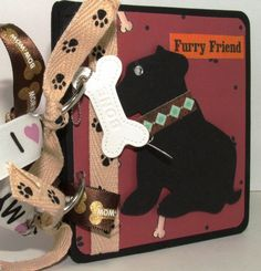 Puppy Dog Mini Album Pet Photos Pet Lover Gift by ScrapsofLuv, $20.00