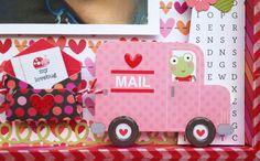 Doodlebug Design Inc Blog: Lovebugs Shadow Box by Silvia