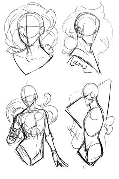 art sketches [YCH 184 - Special Poses by SeraphicMayin Doodle Drawing, Drawing Base, Anatomy Drawing, Drawing Sketches, Art Drawings, Drawing Tips, Learn Drawing, Drawing Style, Gesture Drawing