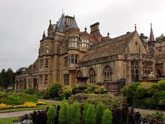 Tyntesfield House, Somerset, near Bristol, England is a spectacular Victorian house and estate owned by the National Trust