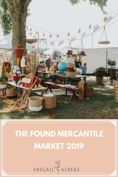 How is the found cottage mercantile market already over for 2019?  Another great year on the books and our best one yet!