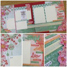 Best source for PAGE LAYOUT kits!  http://scrapbookstation.com/boutique/double-feature-page-kits/