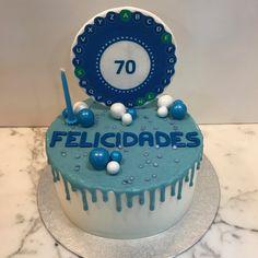 Tarta buttercream con dripp azul y ruleta de la suerte. Birthday Cake, Cupcakes, Desserts, Food, Lolly Cake, Candy Stations, Wheel Of Fortune, Themed Cakes, Blue Nails