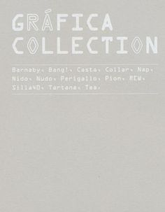 #ClippedOnIssuu from 14009_grafica_collection Collection