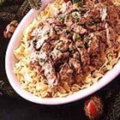 Red River Beef Stroganoff - Click image to find more hot Pinterest pins